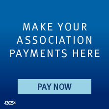 Make your association payments here. Pay Now.